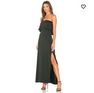Susana Monaco Benny Dress Charcoal XL
